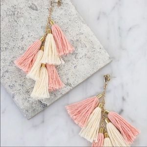 Erika Daydreamer tassel earrings NEW